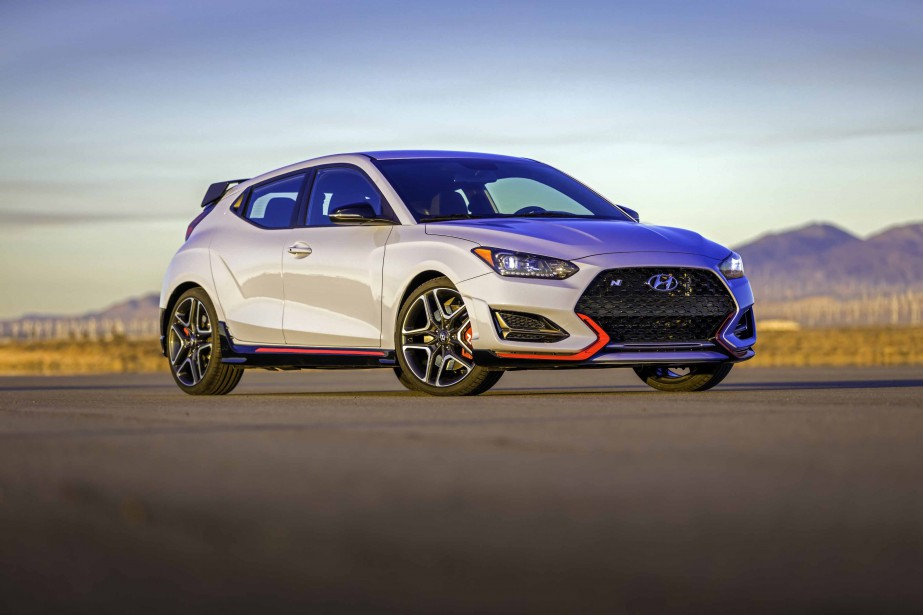Hyundai Veloster 2019, déclinaison N (La Presse)