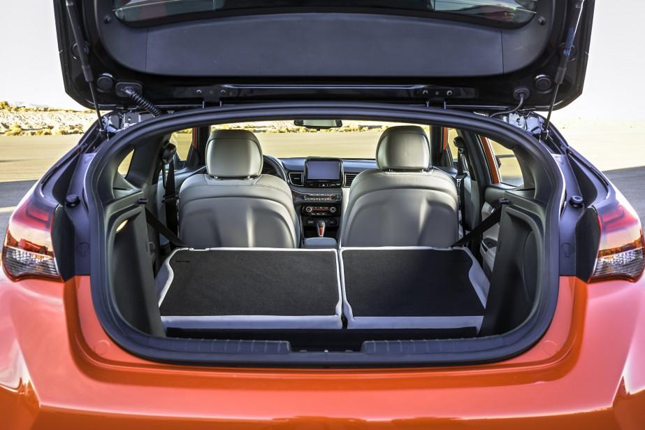 Hyundai Veloster Turbo 2019. (La Presse)