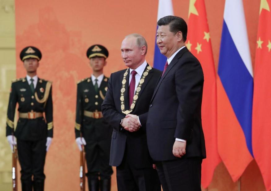 Le président de la Chine Xi Jinping a... (Photo Reuters)