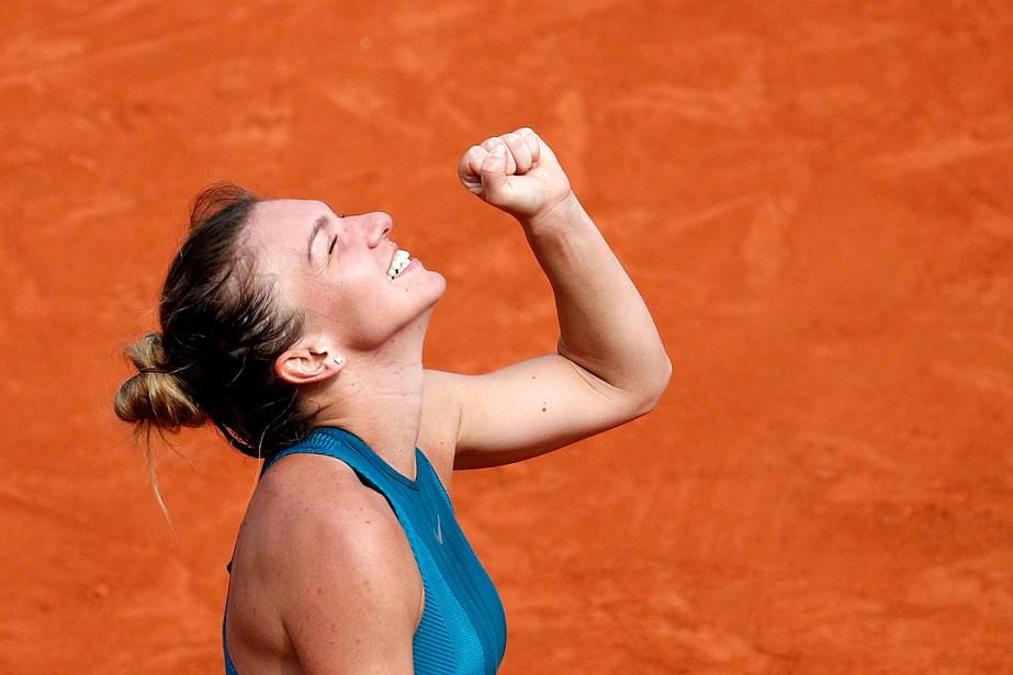 Simona Halepavait échoué lors de ses deux premières... (PHOTO CHRISTOPHE ENA, ASSOCIATED PRESS)