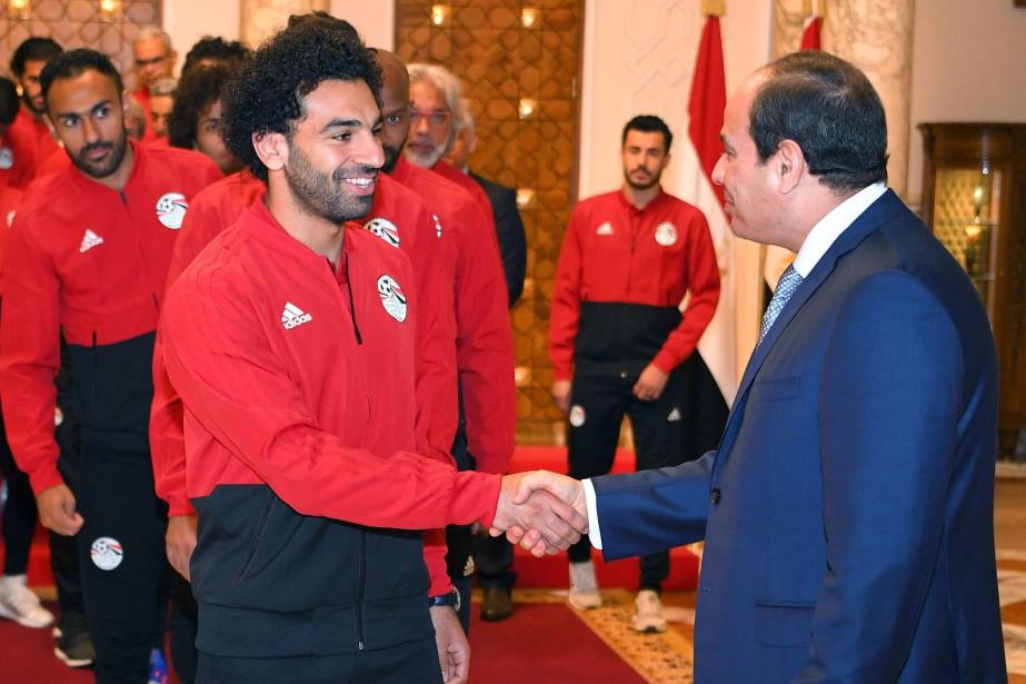 Samedi matin, Mohamed Salah et ses coéquipiers avaient... (PHOTO AFP)