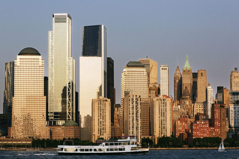 Le 3 World Trade Center, deuxième tour en... (AP)