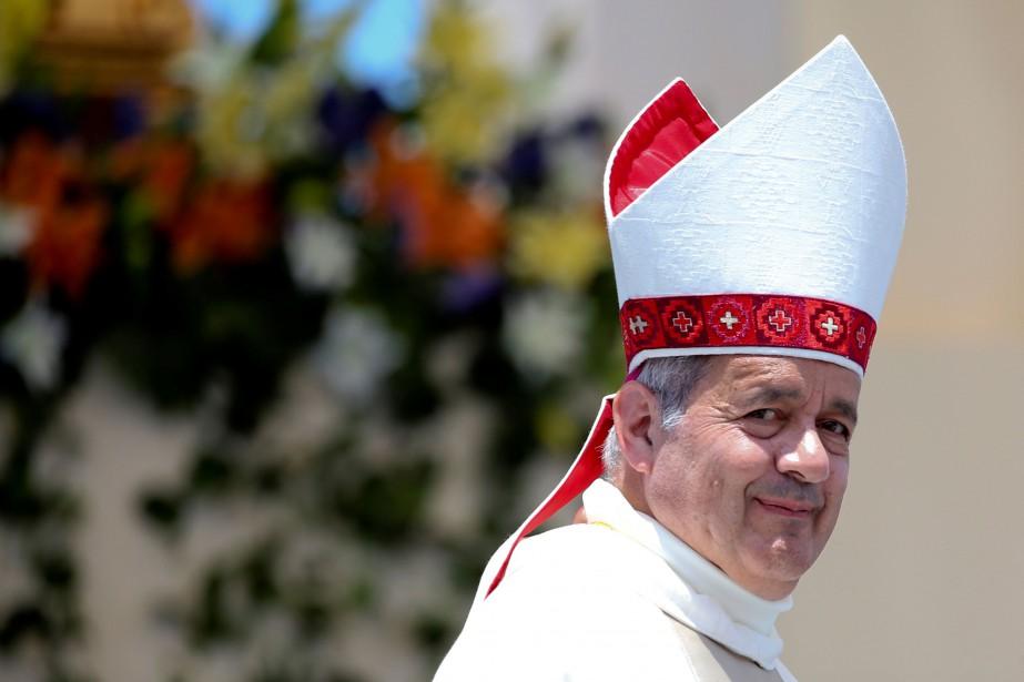 Monseigneur Juan Barros d'Osorno... (REUTERS)