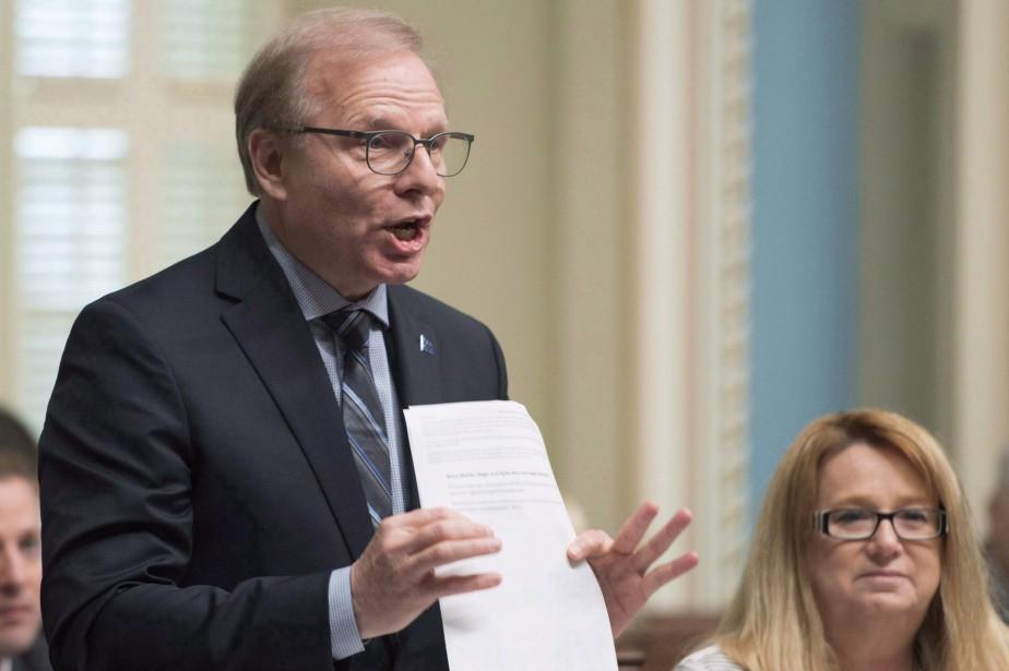 «Ce n'est pas une politique gouvernementale, c'est une... (Photo Jacques Boissinot, La Presse canadienne)