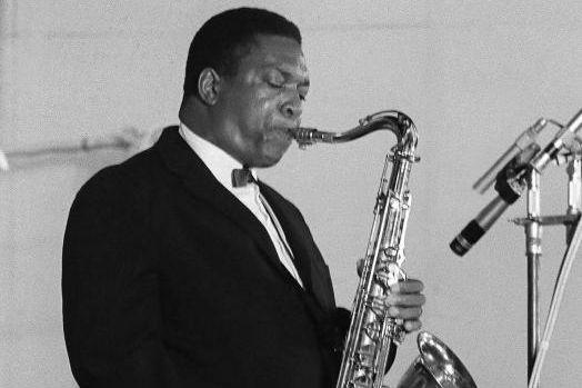 Le saxophonisteJohnColtrane durant un concert à Paris, en... (Photo Archives Agence France-Presse)