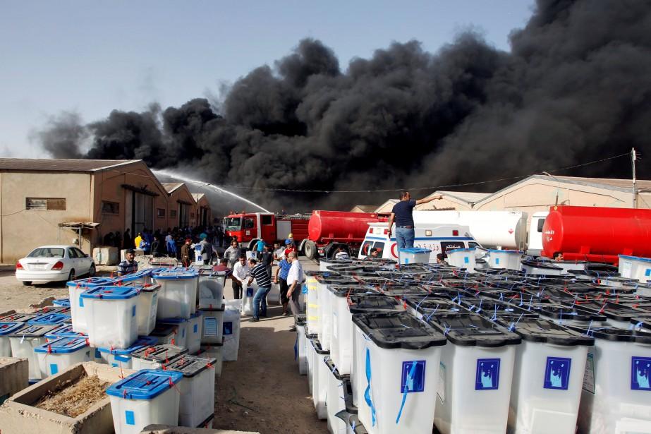 Dimanche, peu après que le Conseil supérieur de... (Photo Khalid al-Mousily, REUTERS)