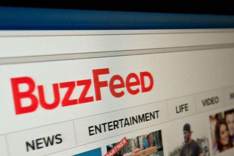 Créé en 2006 aux États-Unis, BuzzFeed se voyait... (Photo Nicholas Kamm, archives Agence France-Presse)