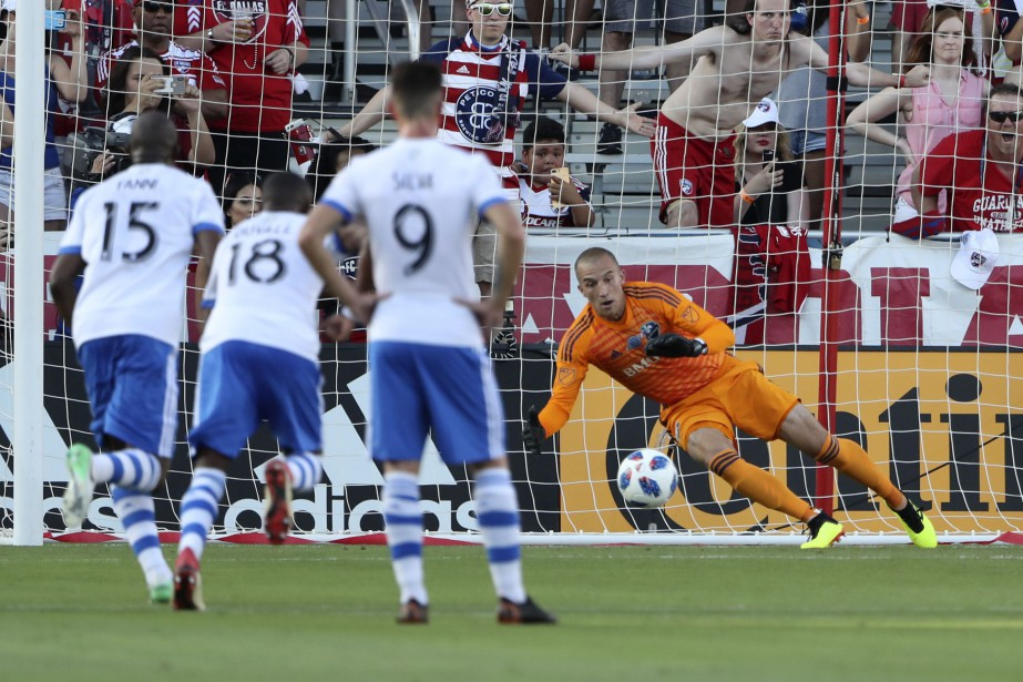 Contre le FC Dallas le week-end dernier, l'Impact... (Photo Kevin Jairaj, USA Today Sports)