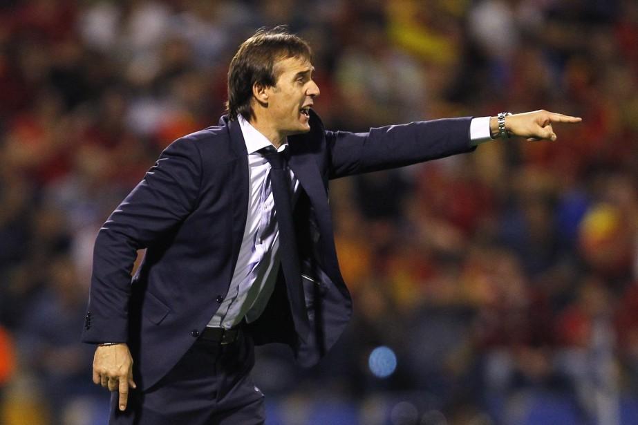 Le sélectionneur de l'équipe d'Espagne, Julen Lopetegui.... (Photo Alberto Saiz, archives AP)