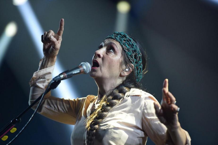 Catherine Ringer... (photoGUILLAUME SOUVANT, archives agence france-presse)