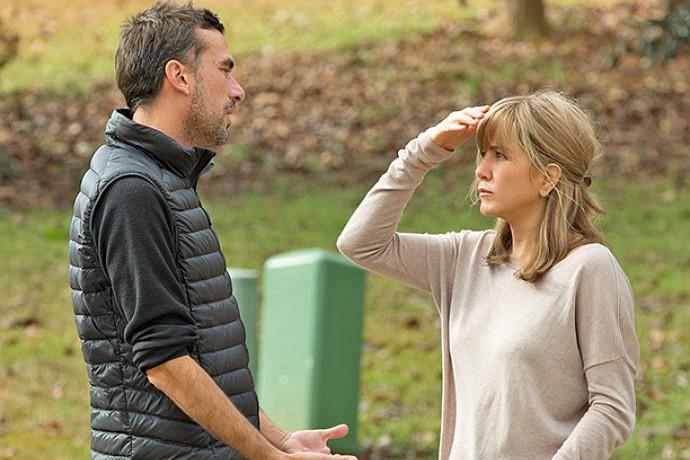 Jack Huston et Jennifer Aniston dans The Yellow... (Capture d'écran)