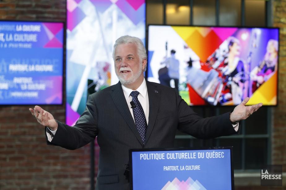 Le premier ministre Philippe Couillard s'est bien défendu... (Photo Martin Chamberland, La Presse)