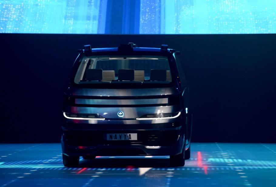 Des robots-taxis Navya à Lyon | 12 juin 2018