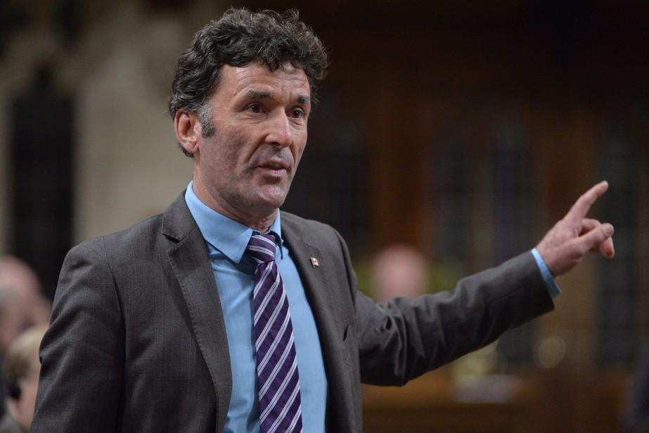 Paul Dewar, qui a représenté la circonscription d'Ottawa-Centre... (Photo Adrian Wyld, archives La Presse Canadienne)