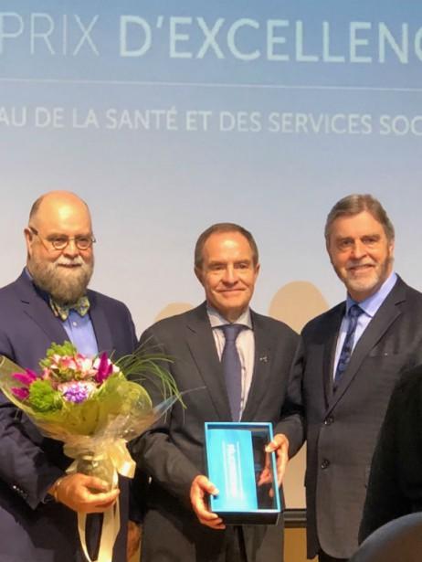De gauche à droite : Luc Castonguay, Denis... (Photo fournie par l'ICM)