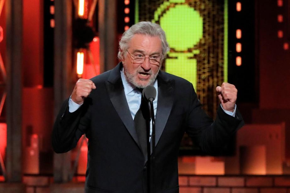 Robert De Niro a lancé «Fuck Trump», dimanche,... (PHOTO REUTERS)