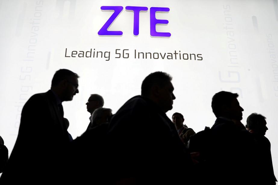 Fer de lance du développement des infrastructures 5G... (PHOTO REUTERS)