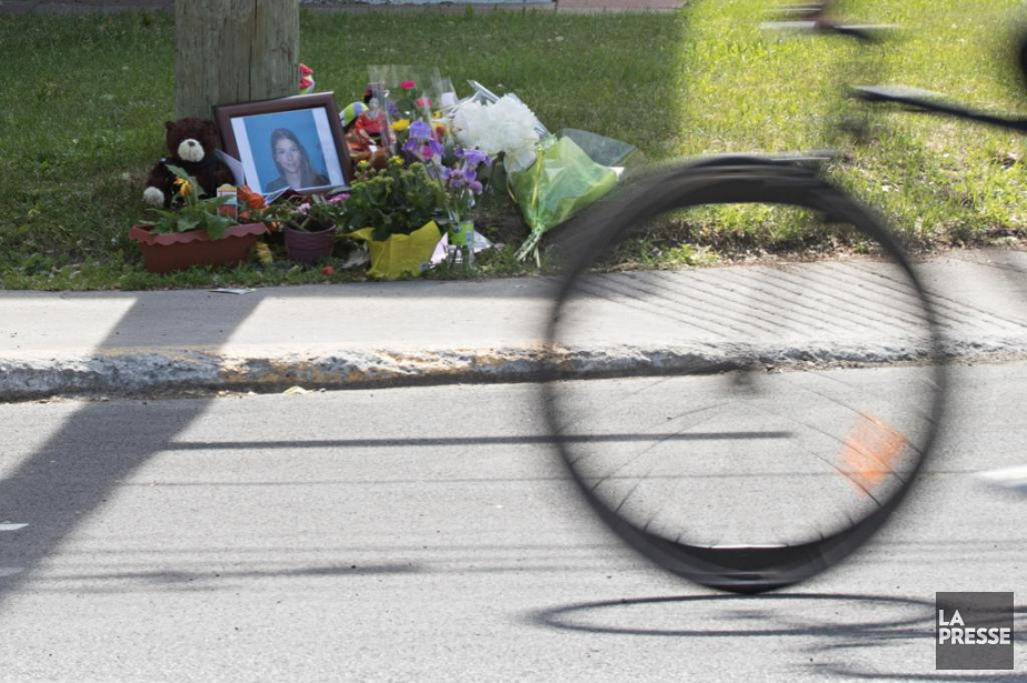 Valérie Bertrand Desrochers, 30 ans, a été tuée... (PHOTO PATRICK SANFAÇON, LA PRESSE)