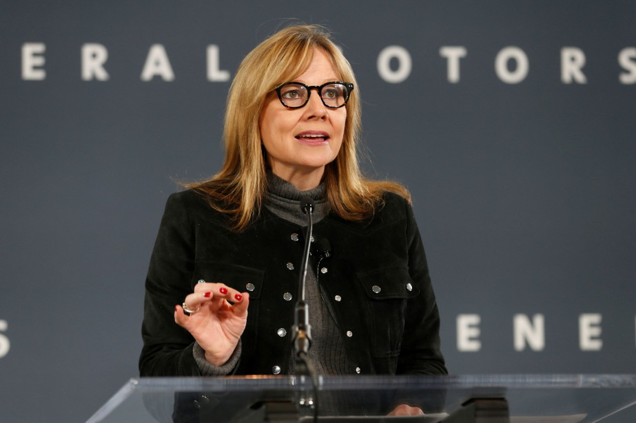 Mary Barra, PDG de General Motors... (REUTERS)