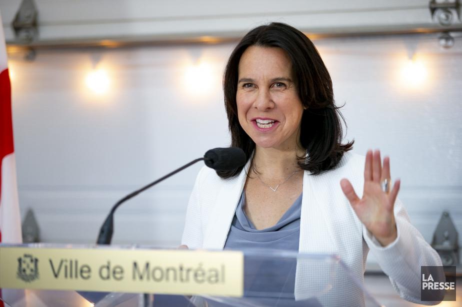 La mairesse de Montréal, Valérie Plante.... (Photo David Boily, archives La Presse)