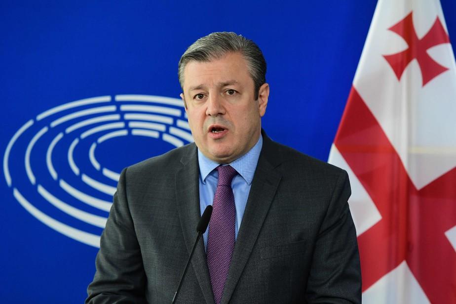 Le gouvernement de Guiorgui Kvirikachvili a été confronté... (Photo Emmanuel Dunand, archives Agence France-Presse)
