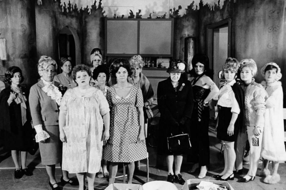 La pièceLes belles-soeurs a été présentée pour la... (Photo Archives La Presse)