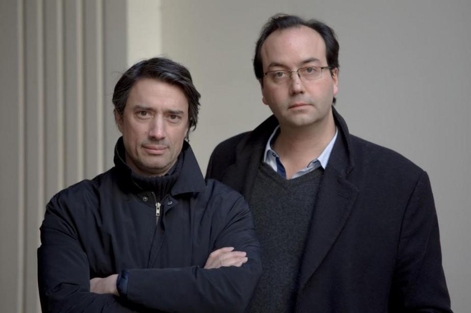 Gédéon et Jules Naudet, réalisateurs de13Novembre: Fluctuat Nec... (Photo fournie par Netflix)