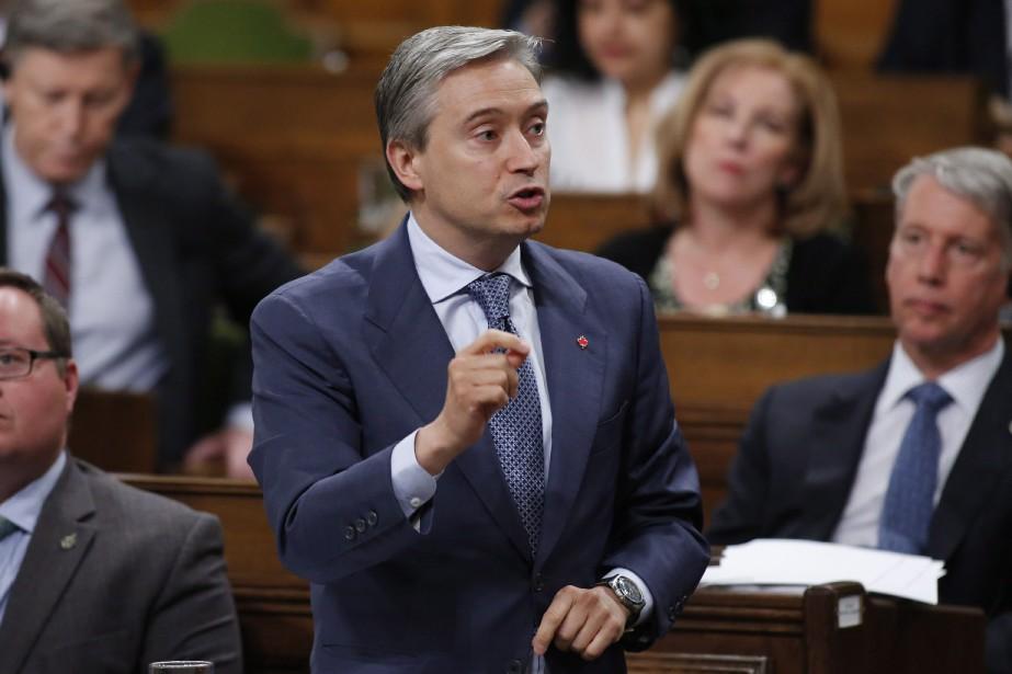Le ministre du Commerce international, François-Philippe Champagne.... (Photo Patrick Doyle, archives PC)