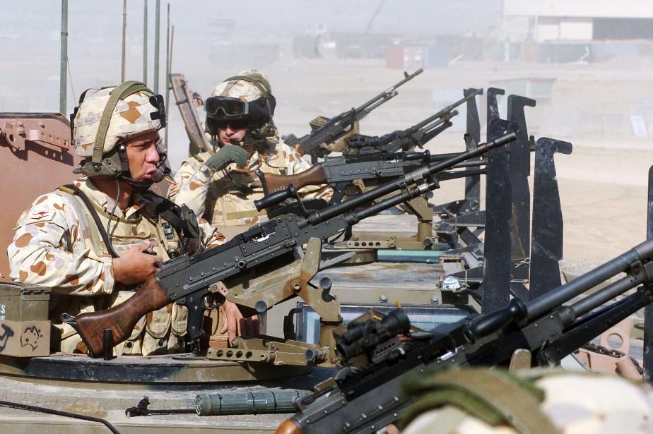 Des soldats australiens en Afghanistan en février 2007.... (ARCHIVES AFP)