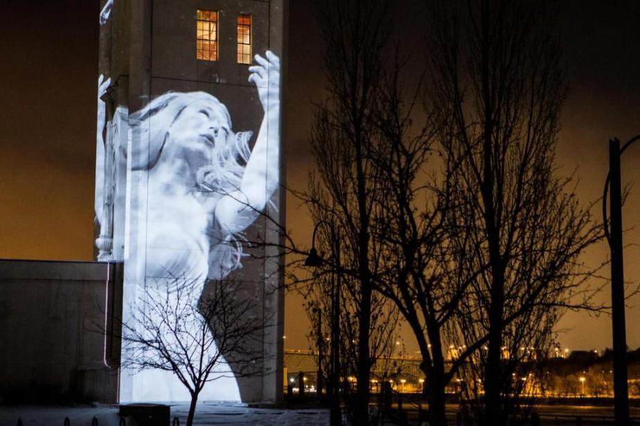 Depuis trois ans, les tableaux deCité Mémoire illuminent... (Photo Edouard Plante-Fréchette, Archives La Presse)