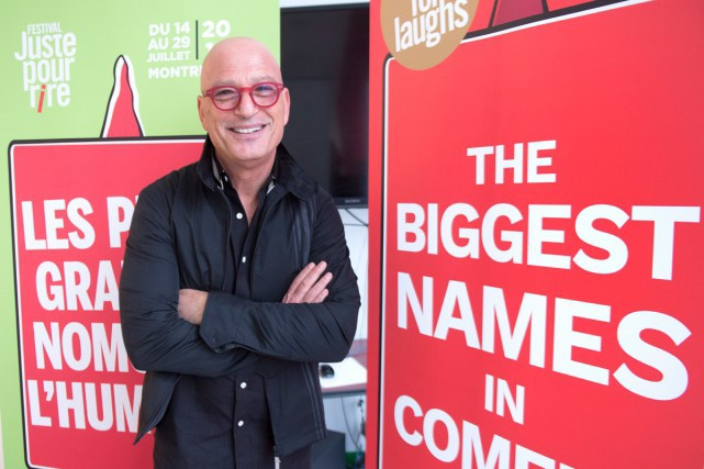 Howie Mandel, copropriétaire de Just for Laughs... (Photo Archives La Presse canadienne)