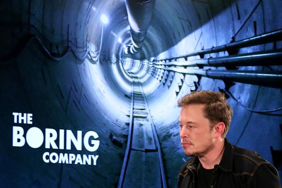 The Boring Company va construire à ses frais et exploiter... | 2018-06-14 00:00:00.000