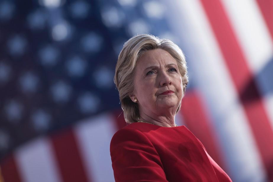 Hillary Clintona assuré quel'annonce par James Comey de... (ARCHIVES AFP)