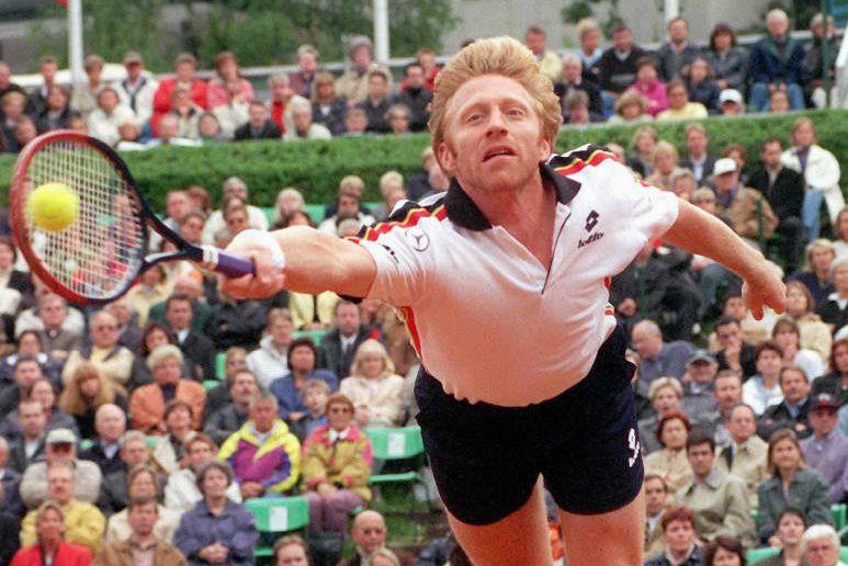 Boris Becker - que l'on voit ici lors... (ARCHIVES AFP)