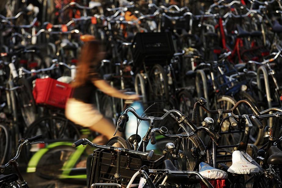 Aux Pays-Bas, plus de la moitié des trajets... (Matthew Lloyd, archives Bloomberg)