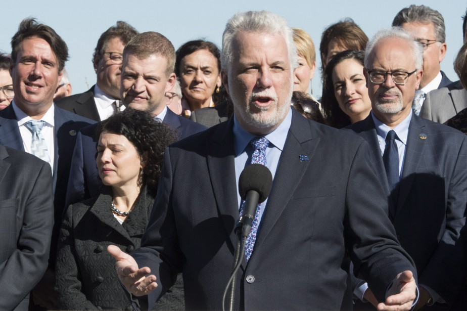 Au dernier jour de la session parlementaire vendredi,... (Photo Jacques Boissinot, archives PC)