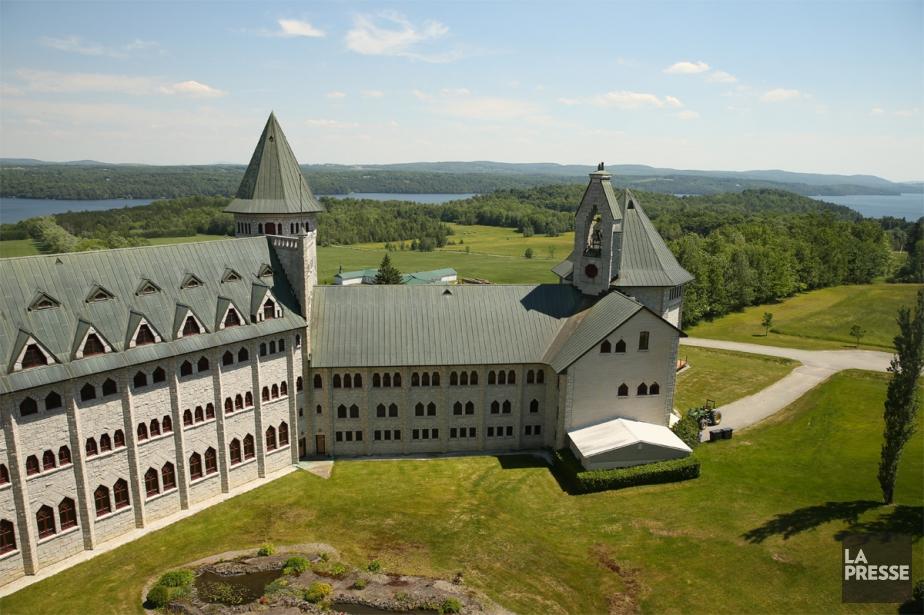 L'abbaye de Saint-Benoît-du-Lac... (Photo Martin Chamberland, Archives La Presse)