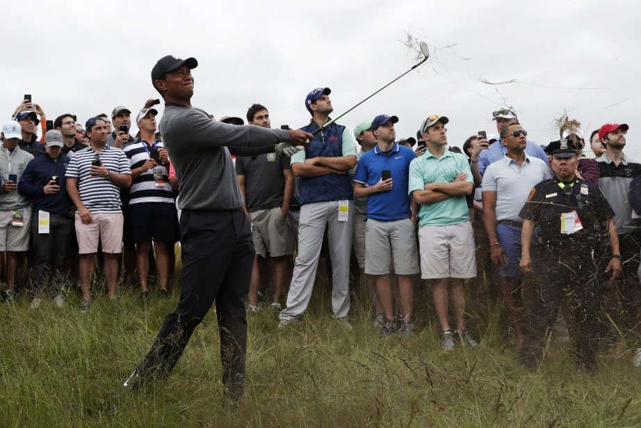 Tiger Woods... (Photo Julio Cortez, AP)