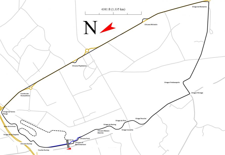Le Circuit de la Sarthe. | 15 juin 2018