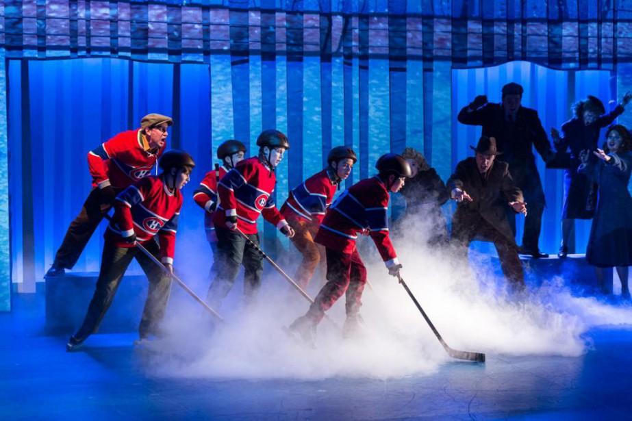 The Hockey Sweater... (Photo Leslie Schachter, fournie par le Centre Segal)