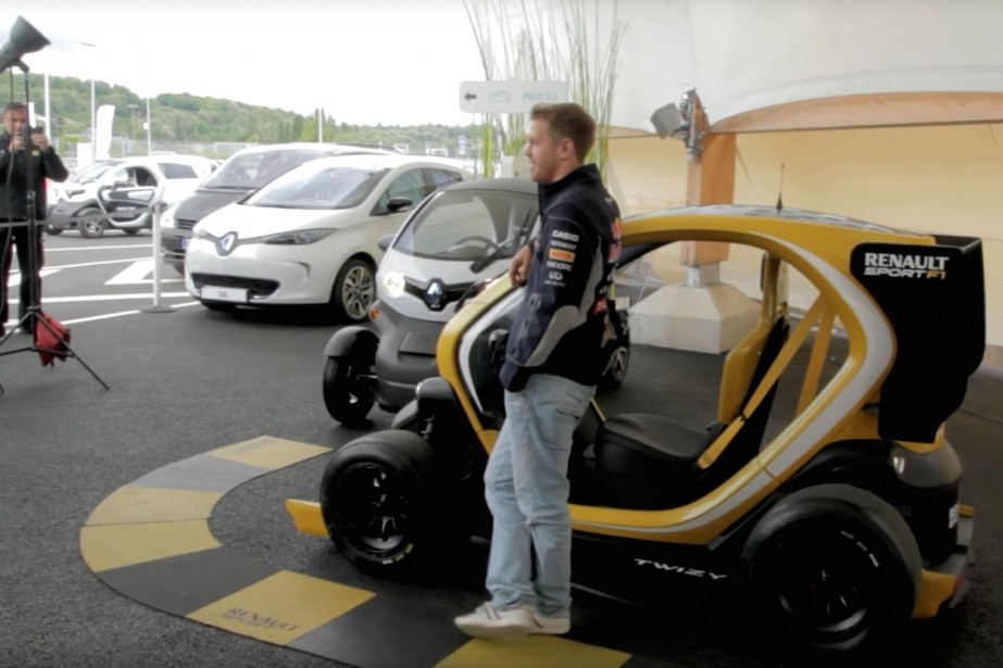 Ce modèle uniqueTwizy Renault Sport F1 est la seule Renault... | 2018-06-15 00:00:00.000