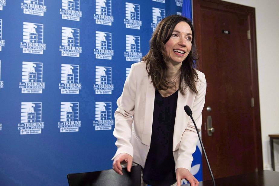 Martine Ouelletexplique que, même si la politique peut... (PHOTO JACQUES BOISSINOT, ARCHIVES LA PRESSE CANADIENNE)