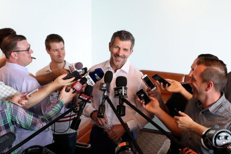 Marc Bergevin, directeur général du Canadien de Montréal,... (Photo Robert Skinner, La Presse)