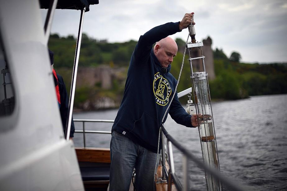 Le scientifique Neil Gemmell a fait le voyage... (PHOTO ANDY BUCHANAN, AGENCE FRANCE-PRESSE)