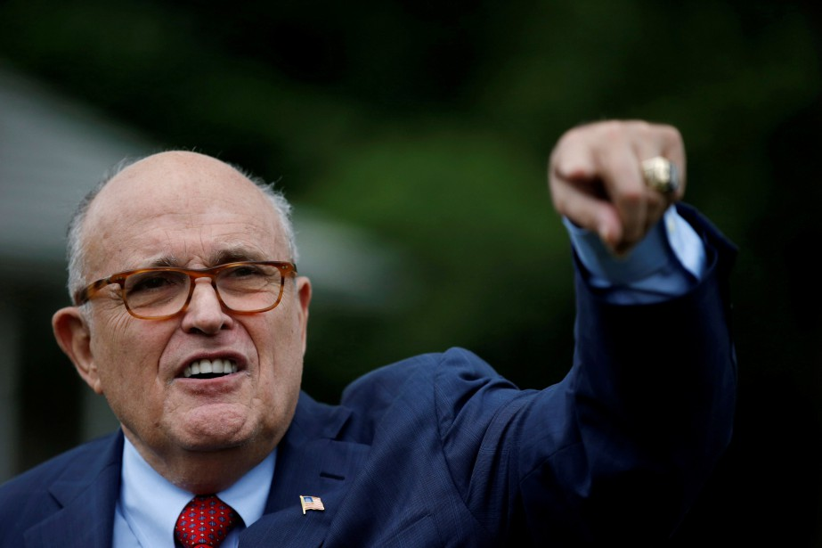 Rudy Giuliani... (ARCHIVES REUTERS)