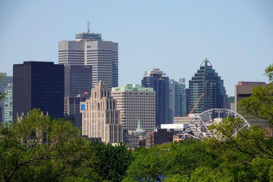 Le centre-ville de Montréal accueillera un premier lieu... (Photo Bernard Brault, Archives La Presse)