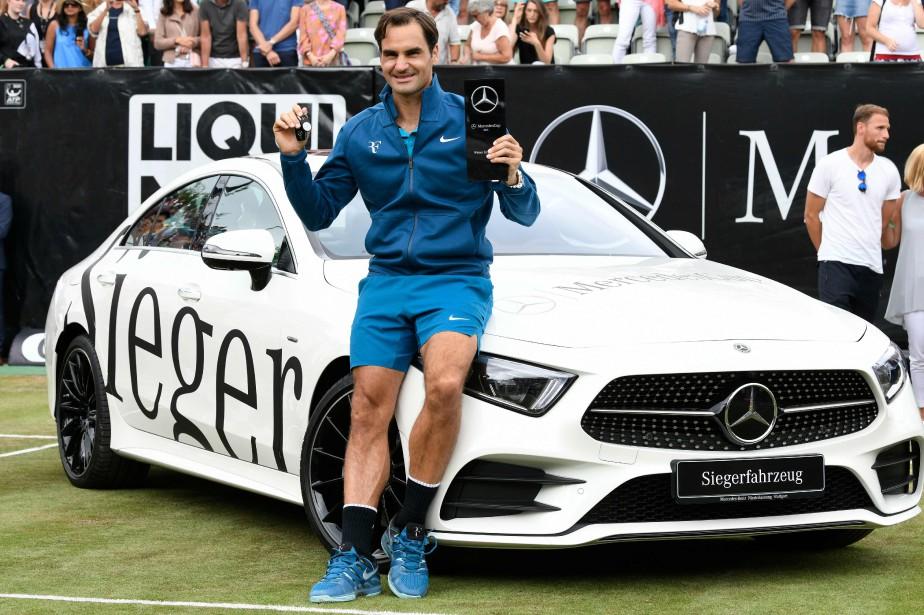 Roger Federer a remporté le tournoi de Stuttgart,... (Photo Thomas Kienzle, AFP)