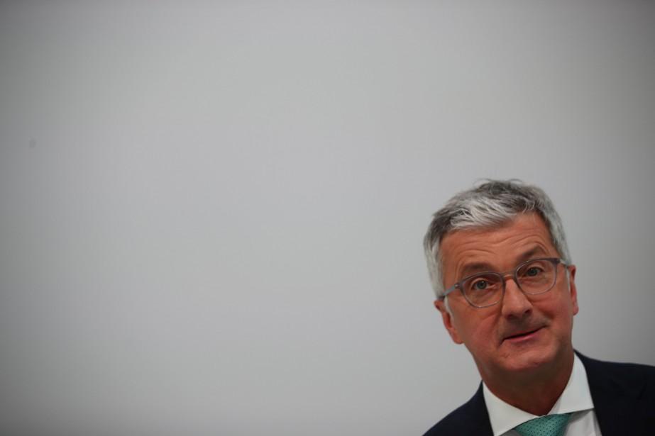 Le patron d'Audi Rupert Stadler a été incarcéré... (photo REUTERS)