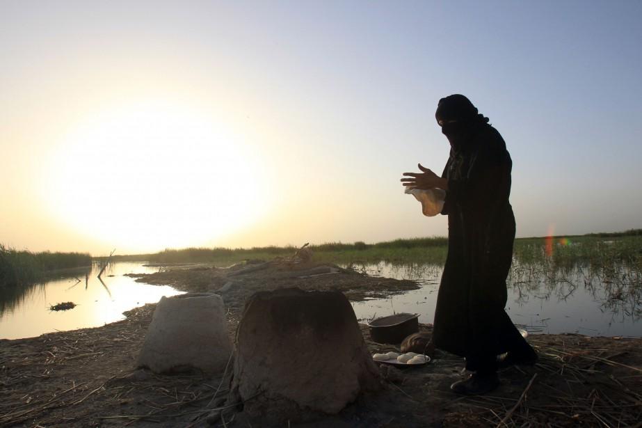 Au-delà du manque de pluie, dramatique cette année... (Photo Ali Al-Saadi, archives Agence France-Presse)
