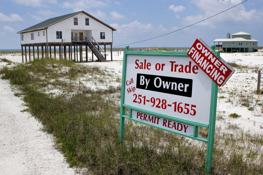 Rien qu'en Floride, 64 000 maisons, d'une valeur... (Photo Kari Goodnough, archives Bloomberg)